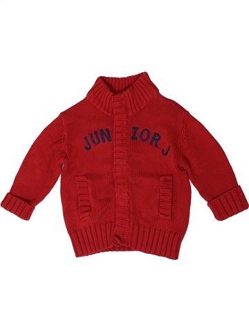 Gilet garçon JUNIOR J rouge 3 ans hiver #1395085_1