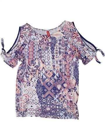 Camiseta de manga corta niña FIT-Z violeta 11 años verano #1395102_1