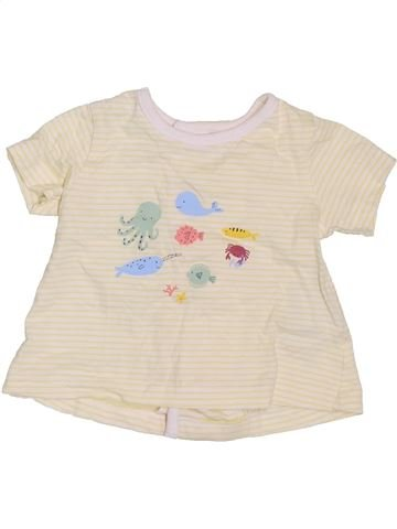 Camiseta de manga corta niño BOUT'CHOU beige 3 meses verano #1395123_1