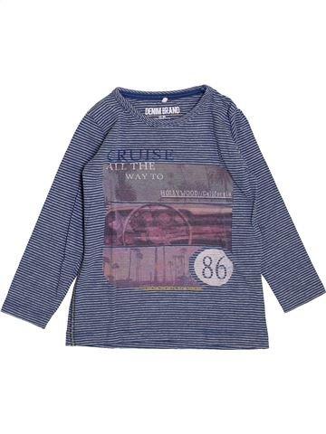 Camiseta de manga larga niño NAME IT azul 2 años invierno #1395182_1