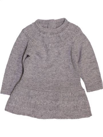 Robe fille CHICCO gris 6 mois hiver #1395244_1
