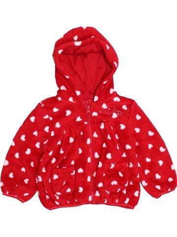 Gilet fille MATALAN rouge 18 mois hiver #1395776_1