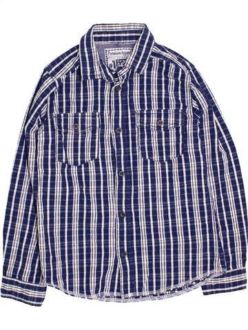 Camisa de manga larga niño TU azul 9 años invierno #1396243_1