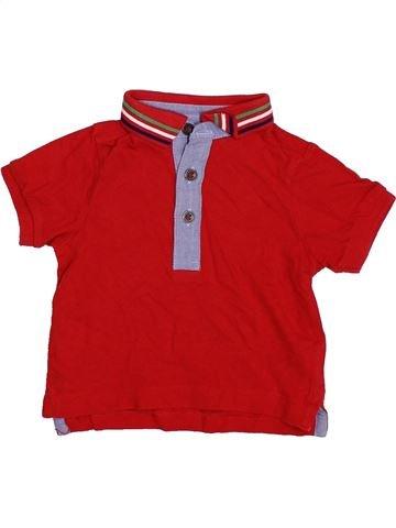 Polo manches courtes garçon MOTHERCARE rouge 9 mois été #1396329_1