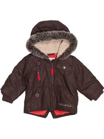 Manteau garçon ROCHA LITTLE ROCHA marron 3 mois hiver #1396419_1