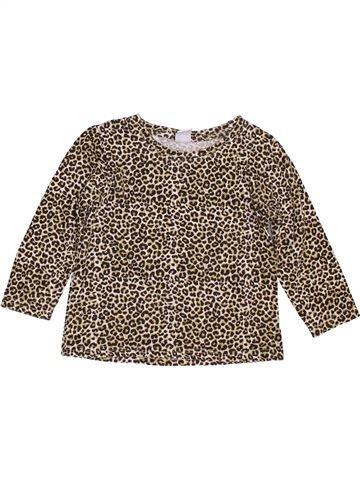 T-shirt manches longues fille STORE TWENTY ONE marron 3 ans hiver #1396670_1