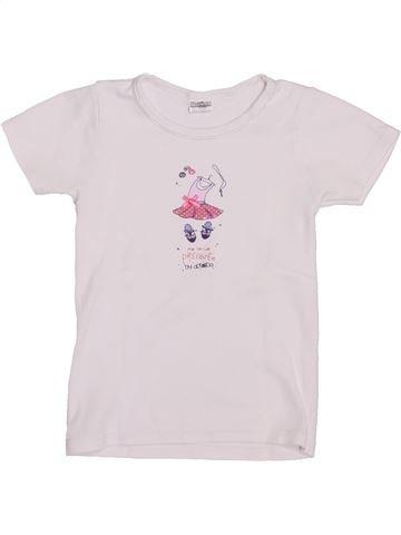 Camiseta de manga corta niña ABSORBA blanco 6 años verano #1396808_1