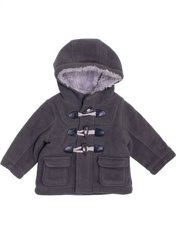 Manteau garçon MATALAN gris 3 mois hiver #1396875_1