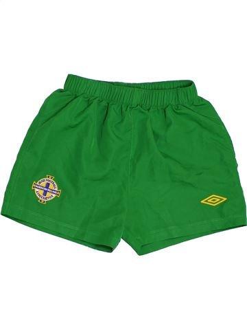 Short de sport garçon UMBRO vert 5 ans été #1397051_1