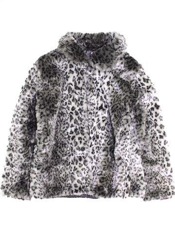 Manteau fille F&F gris 14 ans hiver #1397243_1