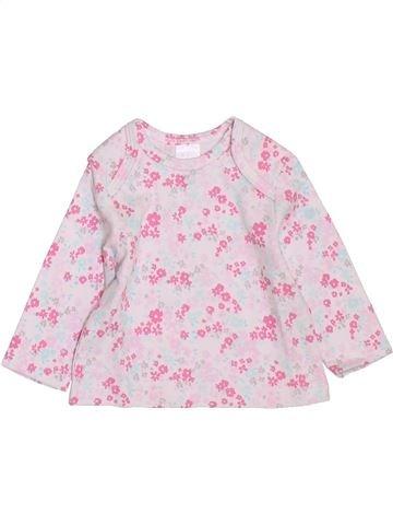 Camiseta de manga larga niña C&A rosa 1 mes invierno #1397678_1