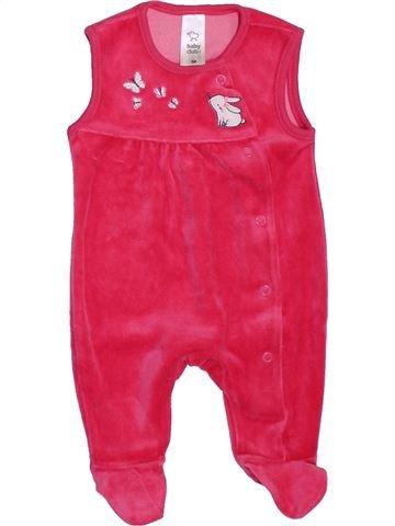 Pijama de 1 pieza niña C&A rosa 1 mes invierno #1397679_1