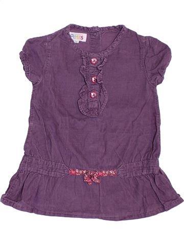 Túnica niña LA COMPAGNIE DES PETITS violeta 9 meses invierno #1397799_1