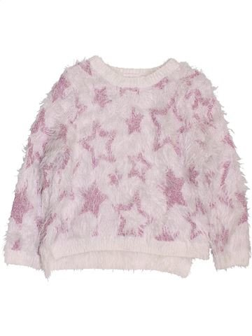 Pull fille H&M blanc 2 ans hiver #1397979_1