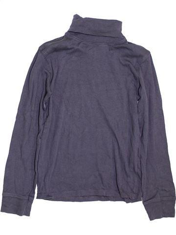 Camiseta de cuello alto niño LA REDOUTE CRÉATION azul 10 años invierno #1398051_1