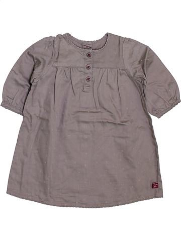 Vestido niña PETIT BATEAU gris 3 meses invierno #1398153_1