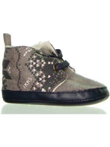 Zapatos bebe niño IKKS gris 6 meses invierno #1398460_1