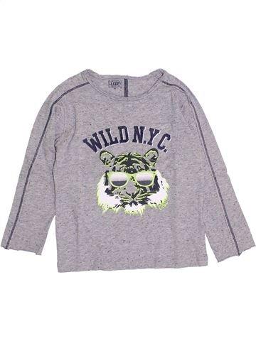 Camiseta de manga larga niño LA COMPAGNIE DES PETITS gris 5 años invierno #1398577_1