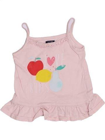 T-shirt sans manches fille KIABI rose 9 mois été #1398651_1