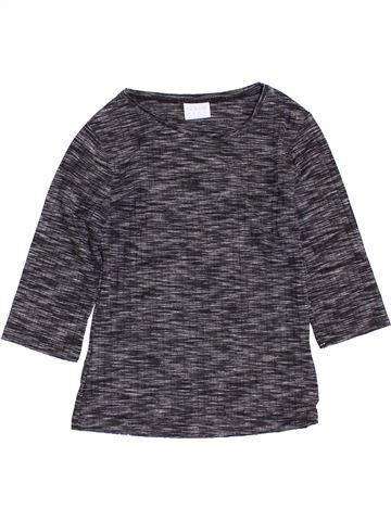 Camiseta de manga larga niña F&F gris 7 años invierno #1398843_1