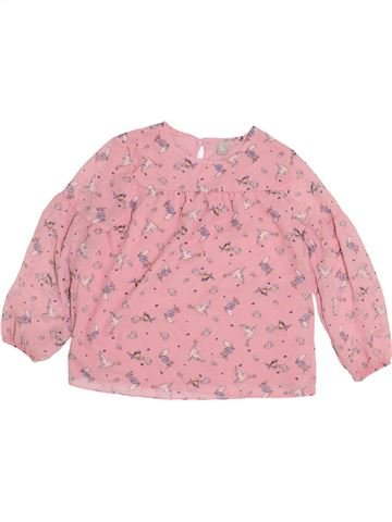 Blusa de manga larga niña TU rosa 7 años invierno #1399086_1