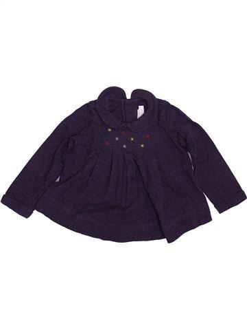 T-shirt manches longues fille NATALYS noir 9 mois hiver #1399209_1