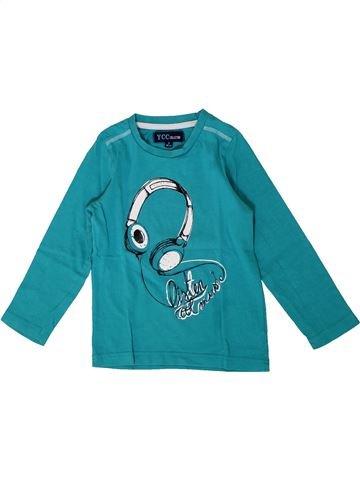 T-shirt manches longues garçon YCC-214 bleu 3 ans hiver #1399493_1