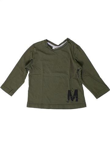 T-shirt manches longues garçon MEXX vert 2 ans hiver #1399549_1