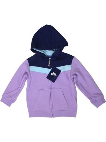Sweat fille NIKE violet 2 ans hiver #1399564_1