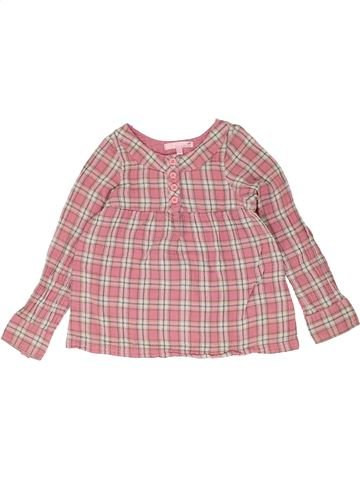 Blouse manches longues fille LISA ROSE rose 8 ans hiver #1399661_1