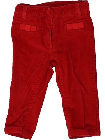 Pantalon fille JACADI marron 12 mois hiver #1399834_1
