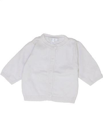 Chaleco niña KIABI blanco 1 mes invierno #1399864_1