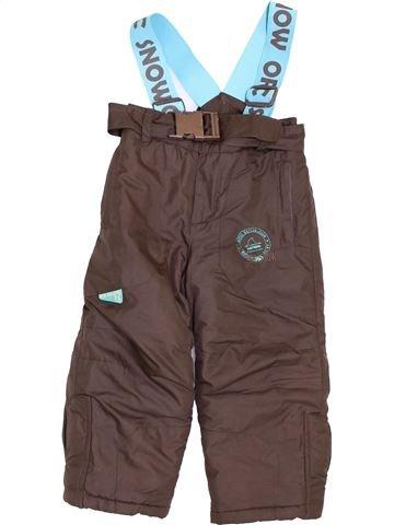 Ski garçon ORCHESTRA marron 3 ans hiver #1399888_1