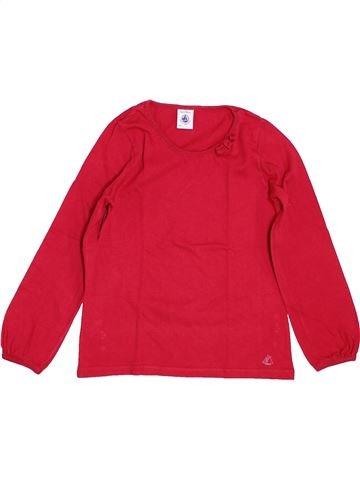Camiseta de manga larga niña PETIT BATEAU rojo 5 años invierno #1399959_1