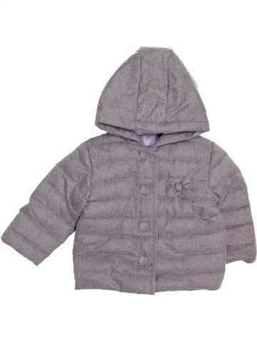 Abrigo niña KIABI gris 18 meses invierno #1399973_1