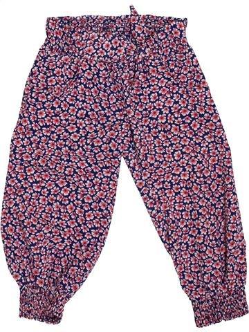 Pantalon fille ORCHESTRA violet 3 ans été #1400056_1