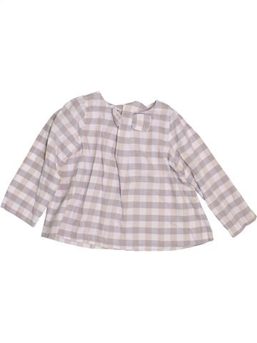 Blusa de manga larga niña JACADI rosa 3 años invierno #1400195_1