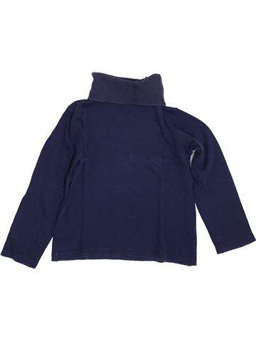T-shirt col roulé garçon OKAIDI bleu 4 ans hiver #1400248_1