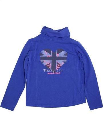 T-shirt col roulé fille TAPE À L'OEIL bleu 10 ans hiver #1400268_1