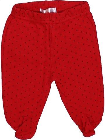 Pantalon fille MANON ET VALENTIN rouge 1 mois été #1400362_1