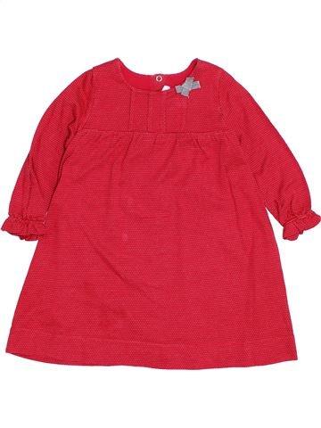 Robe fille PETIT BATEAU rouge 2 ans hiver #1400455_1