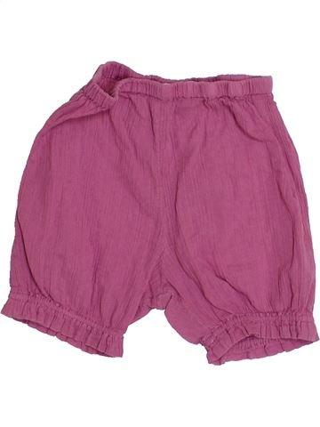 Short-Bermudas niña BOUT'CHOU rosa 12 meses verano #1400468_1