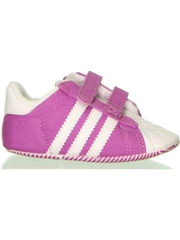 Zapatos bebe niña ADIDAS violeta 19 verano #1400561_1