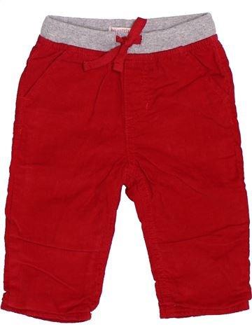 Pantalon garçon DPAM rouge 9 mois hiver #1400589_1