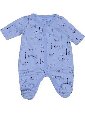 Pijama de 1 pieza niño NATALYS azul 0 meses invierno #1400592_1