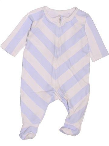 Pyjama 1 pièce garçon NATALYS gris 1 mois été #1400595_1