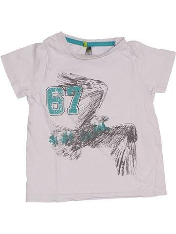 T-shirt manches courtes garçon ORCHESTRA blanc 3 ans été #1400695_1