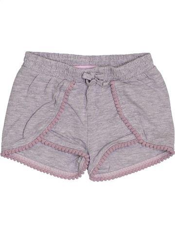 Short - Bermuda fille GEMO gris 12 mois été #1400697_1