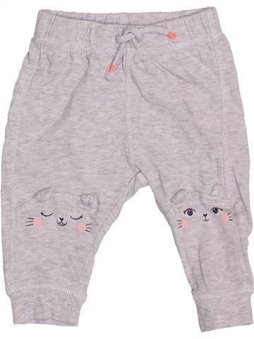 Pantalon fille H&M blanc 6 mois été #1400764_1