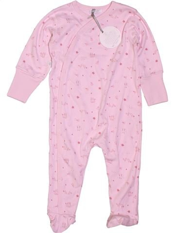 Pyjama 1 pièce fille ABSORBA rose 12 mois été #1400898_1